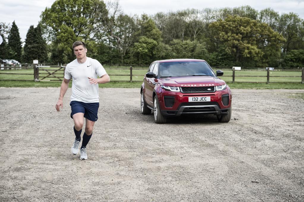 Owen Farrell VS Range Rover Evoque